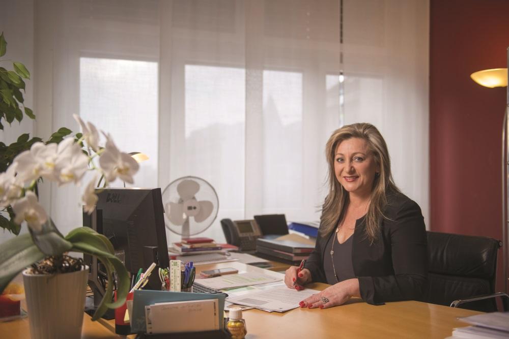 Nuria Gorrite, femme et présidente du Conseil d'état