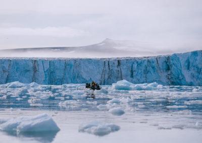 Negribreen Glacier
