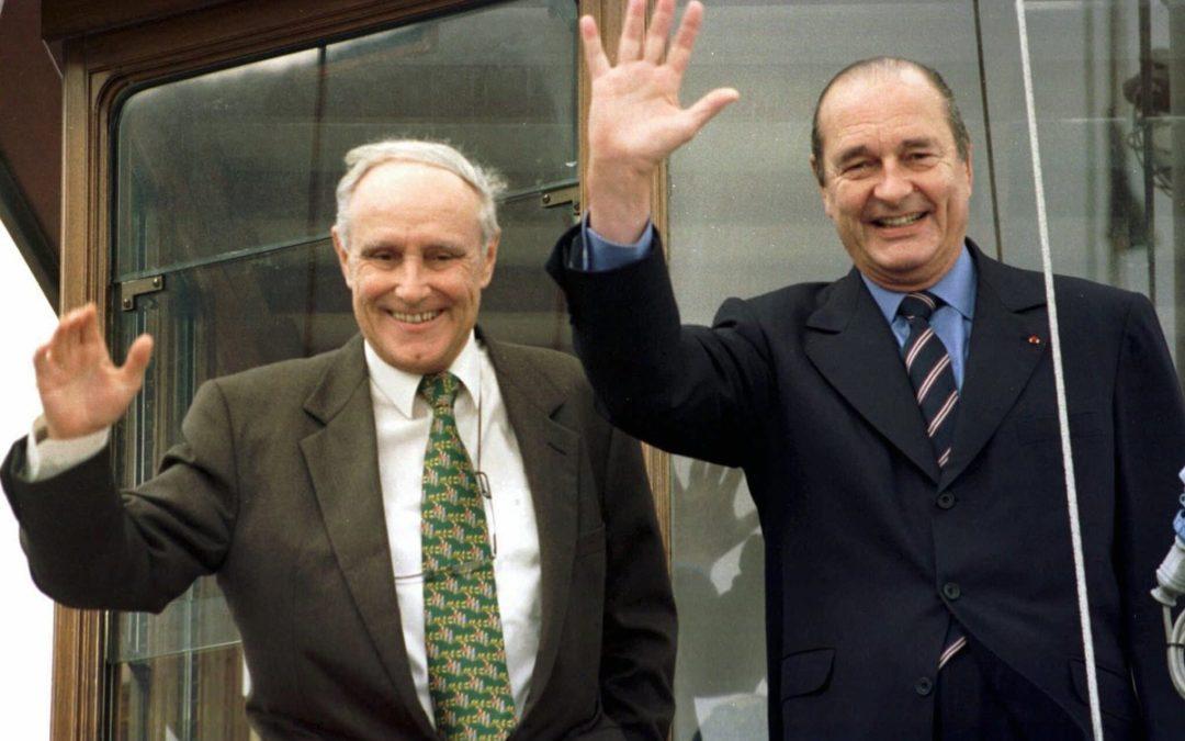 """Quand Jacques Chirac """"se lâchait"""""""