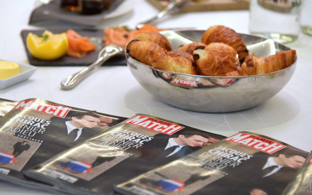 Petit-Déjeuner de Paris Match à Lausanne